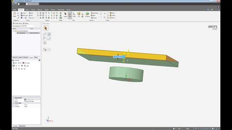 ansys aim permanent magnetic placement simulation youtube