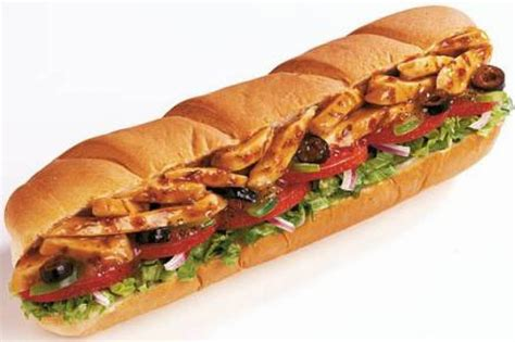 Teriyaki Chicken Sandwich (footlong)...my