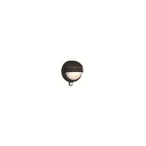 1300 01 30 boston outdoor wall light in black with pir