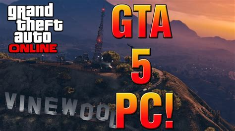 Gta 5 Pc Official Release Date Announced