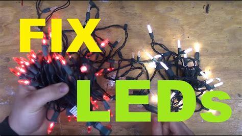How Fix Led Christmas Lights Youtube