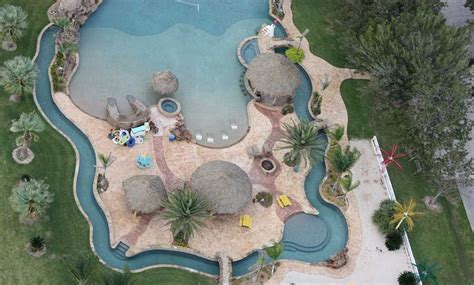 residential lazy rivers homes   rich