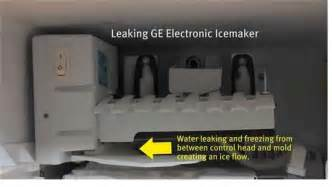 solved how to fix a kenmore maker leaking water fixya