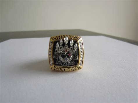 2005 Super Bowl Xl Championship Ring Pittsburgh Steelers