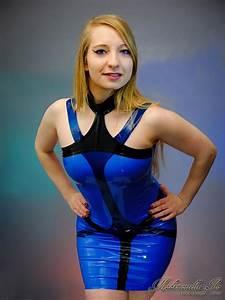 mademoiselle ilo sapphire dress rubber