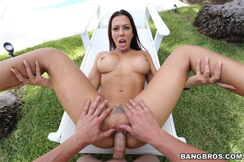 sex images sunbathing and outdoor pov sex for busty rachel starr the sex me