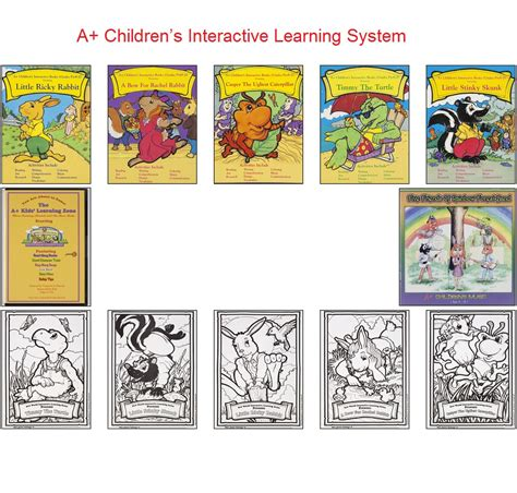 A+ Children's Books Interactive Learning System
