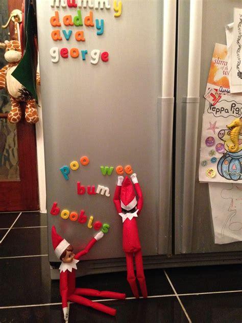 love elf   shelf  weve put