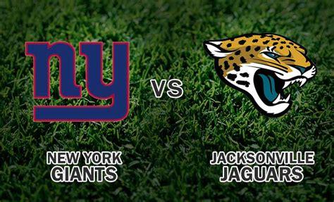 Jaguars Giants by New York Giants Vs Jacksonville Jaguars