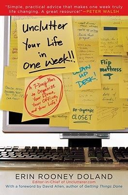 Unclutter Your Life In One Week By Erin Doland — Reviews