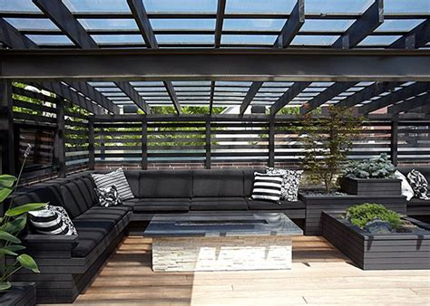 House Design Ideas With Rooftop by Chicago Modern House Design Amazing Rooftop Patio
