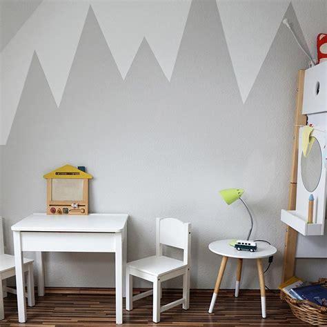 Kinderzimmer Wandgestaltung Berge by Wandgestaltung Mit Farbe Wandgem 228 Lde Bergen Selber
