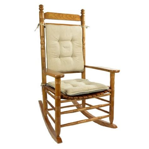 rocking chair cushion set stone cushions pillows