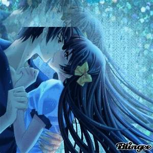 Anime kiss in the Rain Picture #117979124 | Blingee.com
