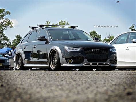 slammed audi slammed audi allroad at waterfest 20 mind over motor
