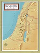 Map of the Holy Land at the Time of Jesus Poster ...