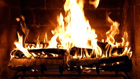 fireplace  crackling birchwood  fireplace
