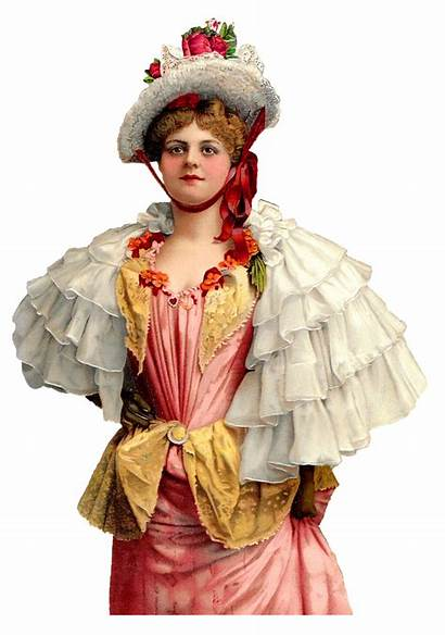 Victorian Woman Cape Antique Evening Bonnet Graphics