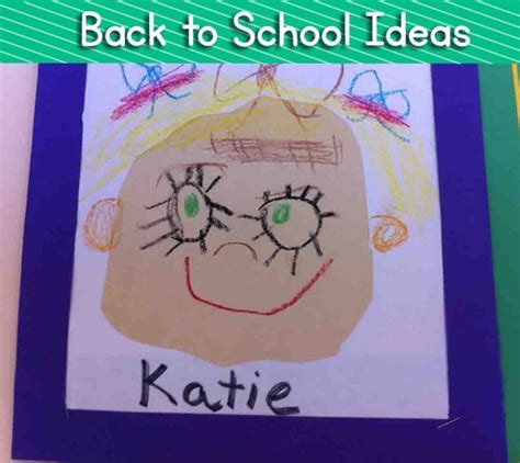 back to school art projects preschool back to school lessons for kindergarten lesson plans 615