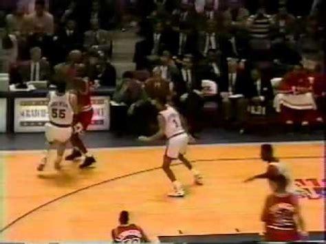 Michael Jordan(23) Dunks On Patrick Ewingtv Youtube