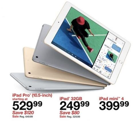 black friday table deals 2017 target black friday 2017 ad features 250 apple ipad deal