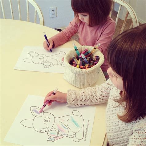 printable easter egg  bunny coloring pages