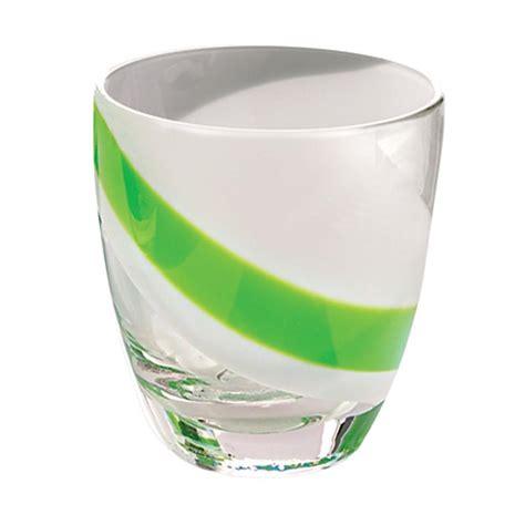 guzzini bicchieri bicchierini liquore gift 6 pezzi 60 cc verde guzzini