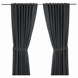 Gardinen Stopper Ikea : ritva 2 gardinen raffhalter grau ikea ~ Watch28wear.com Haus und Dekorationen
