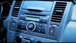 How To Replace Car Stereo  Nissan Versa  Remove And
