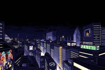 Future Cities 16bit Dazed