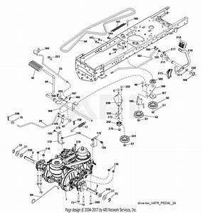 32 Poulan Pro Riding Mower Drive Belt Diagram