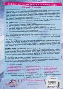 Kcse Masterpiece Revision Mathematics Practical Manual