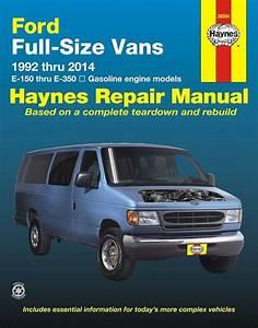 Ford Econoline E150  E250  E350 Repair Manual 1992