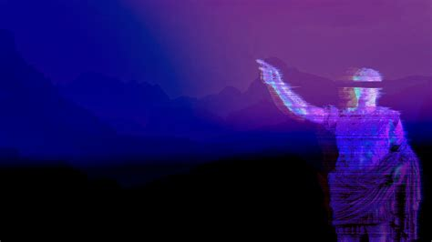 aesthetic wallpaper wallpaper vaporwave statue