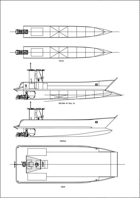 Punt Boat Plans by Sea Boat Plans Punt