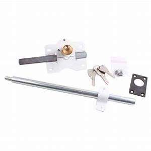 serrure de porte de garage sectionnelle pieces detachees With porte de garage sectionnelle avec barillet de serrure