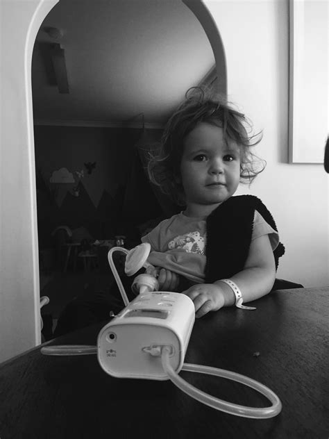 Cathy Garbin Expressing Using An Electric Breast Pump
