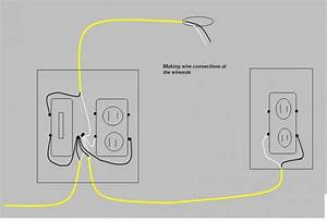switch and receptacle in same box electrical diy With open house wiring box