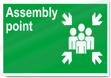 Assembly Point Safety Signs  Signstoyoum. Electrical Room Signs Of Stroke. Lung Atelectasis Signs. Equel Signs. American Flag Signs Of Stroke. Eosinophilic Pneumonia Signs. Neck Thyroid Signs. Flowered Signs. Quadrilateral Signs