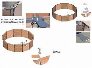 Piscine Hors Sol Composite : montage composite piscine en bois composite ~ Dode.kayakingforconservation.com Idées de Décoration