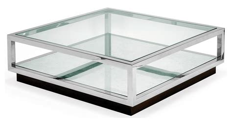 Silver And Glass Coffee Table  Coffee Table Design Ideas