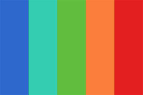 nike farve color palette