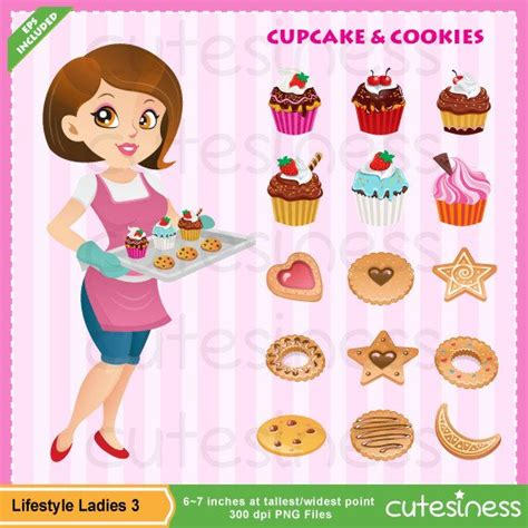 Pastry Clipart Pastry Clipart Bakery Clipart Baker Clipart By Cutesiness