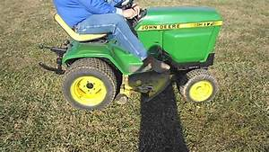Used John Deere 317 Lawn Tractor