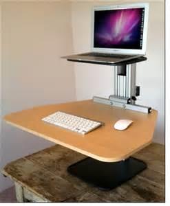 ergodesktop s kangeroo an adjustable stand up desk
