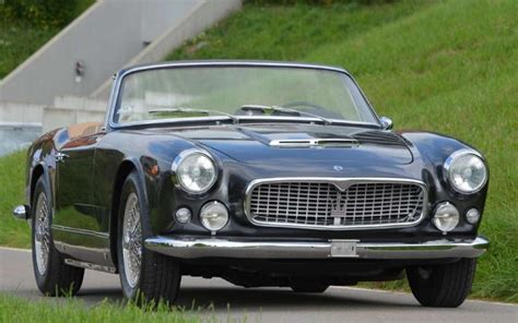 vintage maserati convertible 1962 maserati 3500 gti cabriolet classic cars drive