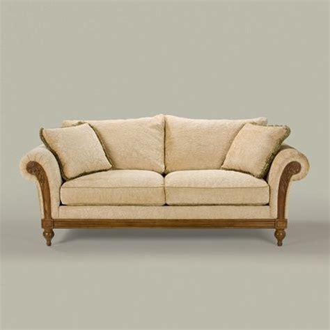 Ethan Allen Leather Sofa Craigslist by Ethan Allen Pratt Sofa Living Room Leather