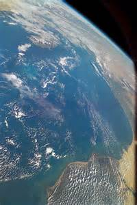 Earth From Space Shuttle View