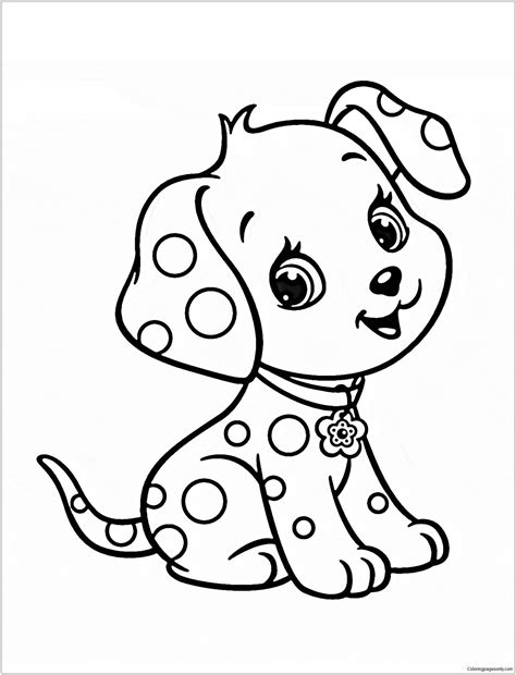 cute puppy  coloring page criancas  colorir