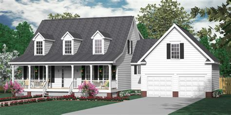 southern heritage home designs house plan    montgomery